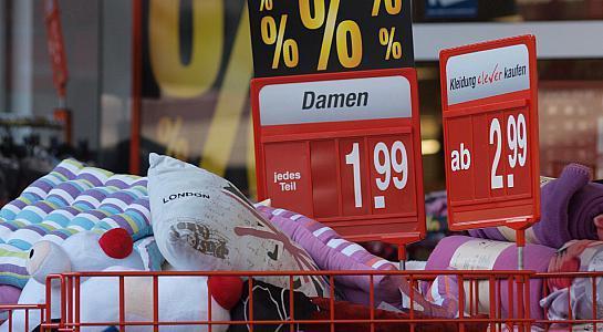 Inflation knackt Zwei-Prozent-Marke