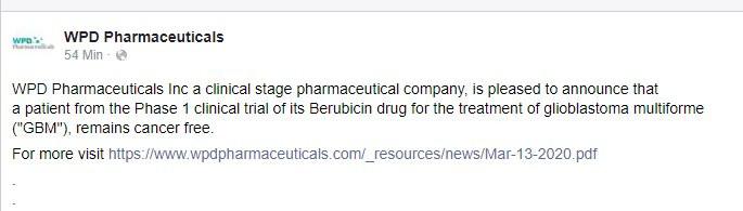 wpd pharmaceuticals inc aktie