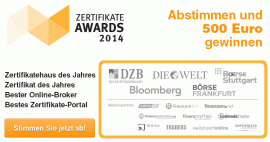 Publikumsumfrage : ZertifikateAwards 2014