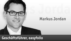 <b>Markus Jordan</b> ist Geschäftsführer von easyfolio. - markus-jordan