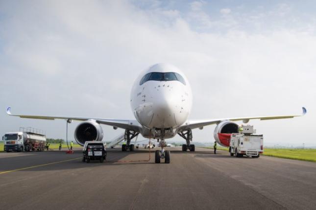 Die Lufthansa Scheint Mit Airbus A350 Anstatt Dreamliner Alles