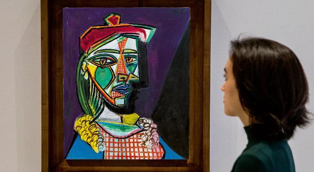 Pablo Picassos 'Golden Muse' Erscheint Erstmals Auf Dem