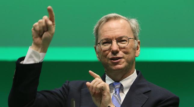 Ex-Google-Chef Schmidt gibt Chefposten im Alphabet-Verwaltungsrat auf